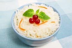 De salade van de zuurkool royalty-vrije stock foto's