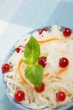 De salade van de zuurkool royalty-vrije stock afbeeldingen