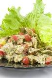 De salade van deegwaren   Royalty-vrije Stock Foto's