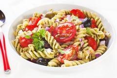 De Salade van deegwaren Stock Foto