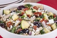 De Salade van deegwaren Royalty-vrije Stock Fotografie