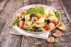 De Salade van deegwaren Royalty-vrije Stock Afbeelding