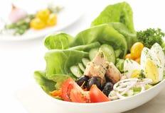 De salade van eieren Stock Foto's