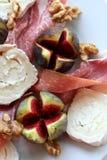 De salade van fig. Royalty-vrije Stock Fotografie