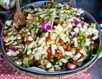 De salade van Friut Stock Afbeelding