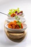 De salade van garnalen Royalty-vrije Stock Afbeelding