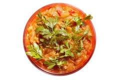 De salade van Ghiveci Royalty-vrije Stock Afbeelding