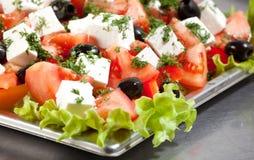 De salade van Griekenland Stock Afbeelding