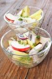 De salade van haringen Royalty-vrije Stock Afbeeldingen