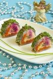 De salade van haringen Royalty-vrije Stock Foto