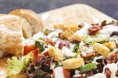 De Salade van het bacon Stock Fotografie