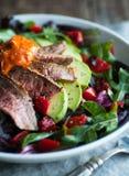 De salade van het braadstukrundvlees Stock Foto's