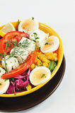 De salade van het dieet stock afbeeldingen