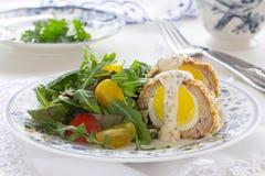 De salade van het ei Royalty-vrije Stock Afbeelding