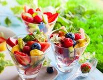 De salade van het fruit en van de bes royalty-vrije stock fotografie