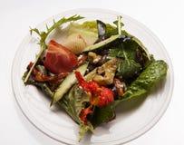 De Salade van het huis Stock Foto's