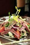 De salade van het rundvlees Royalty-vrije Stock Afbeeldingen
