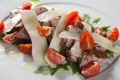 De salade van het rundvlees Royalty-vrije Stock Foto's