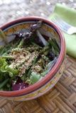 De Salade van het Sesamzaad van de zomer Stock Afbeelding