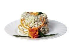 De salade van het vlees Royalty-vrije Stock Foto