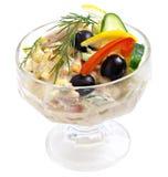 De Salade van het vlees Stock Foto