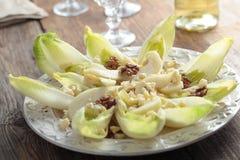 De salade van het witlof stock foto's