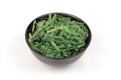 De salade van het zeewier Royalty-vrije Stock Afbeeldingen