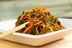 De salade van het zeewier royalty-vrije stock afbeelding