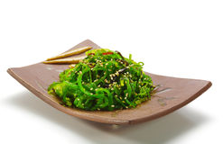 De Salade van het Zeewier van Chuka Stock Afbeeldingen