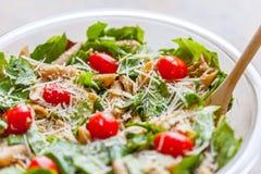 De salade van kippendeegwaren Royalty-vrije Stock Foto