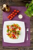 De salade van kippengyroscopen Stock Fotografie