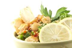 De Salade van kippentabbouleh Stock Foto
