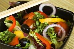 De salade van Mediterranee Stock Afbeeldingen