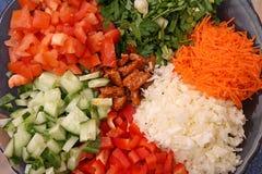 De salade van Nice Stock Afbeeldingen