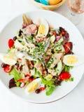 De salade van Nicoise Royalty-vrije Stock Fotografie