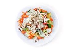 De salade van paddestoelen Stock Afbeelding