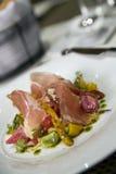 De Salade van Prosciutto Royalty-vrije Stock Foto