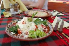 De salade van Shopska Stock Afbeeldingen