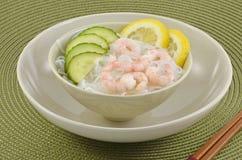 De salade van Sunomono Stock Foto's