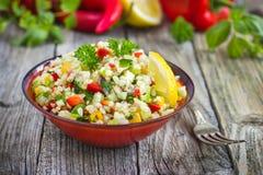 De salade van Tabbouleh Stock Foto's