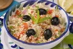 De salade van Tabouleh Stock Afbeelding
