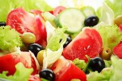 De salade van tomaten Stock Afbeeldingen