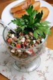De Salade van de tonijn Royalty-vrije Stock Afbeeldingen