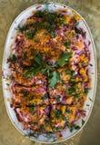 De salade van vissen Royalty-vrije Stock Fotografie