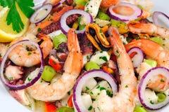 De Salade van zeevruchten Stock Afbeeldingen
