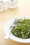 De salade verticaal formaat van de raket en van de parmezaanse kaas Royalty-vrije Stock Foto's