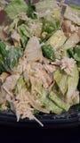 De saladeart. van kippencaesar Stock Foto