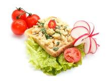 De saladesandwich van het ei Royalty-vrije Stock Fotografie