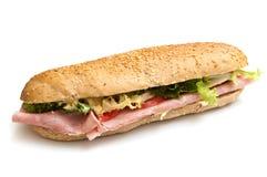 De saladetomaten van de sandwichjam royalty-vrije stock afbeelding
