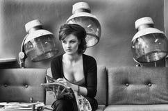 De Salon van het haar Stock Foto's